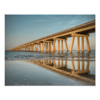 San Luis Pass Bridge Photo Print