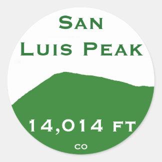 San Luis Peak Sticker