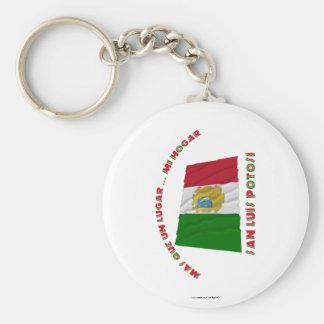 San Luis Potosí - Más Que un Lugar ... Mi Hogar Basic Round Button Key Ring