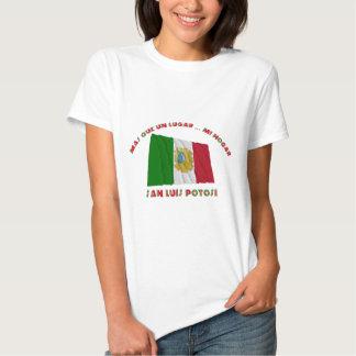 San Luis Potosí - Más Que un Lugar ... Mi Hogar T-shirts