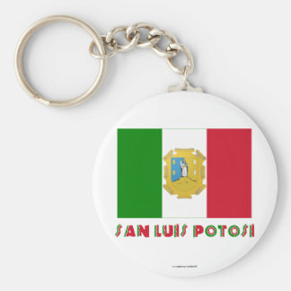 San Luis Potosí Unofficial Flag Keychains