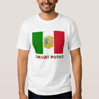 San Luis Potosí Unofficial Flag Shirt