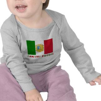 San Luis Potosí Unofficial Flag Shirts
