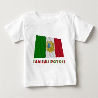 San Luis Potosí Waving Unofficial Flag T-shirt