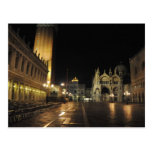 San Marco Square, Venice Italy (5:30 a.m.) Postcards