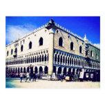 San Marco Square, Venice postcard