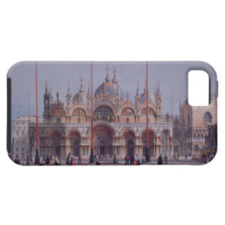 San Marco, Venice, engraved by Brizeghel (litho) iPhone 5 Cases