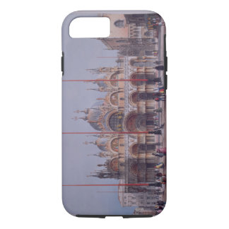 San Marco, Venice, engraved by Brizeghel (litho) iPhone 7 Case