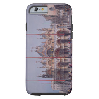 San Marco, Venice, engraved by Brizeghel (litho) Tough iPhone 6 Case