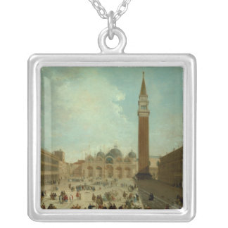 San Marco, Venice Silver Plated Necklace