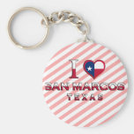 San Marcos, Texas Key Chain