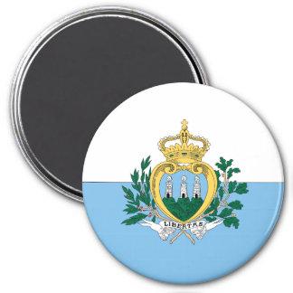 San Marino 7.5 Cm Round Magnet
