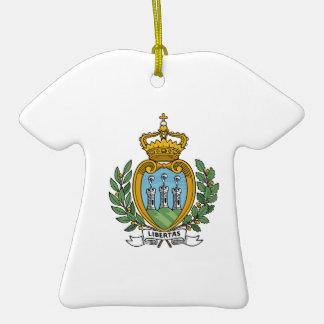 San Marino Coat of Arms Christmas Ornaments