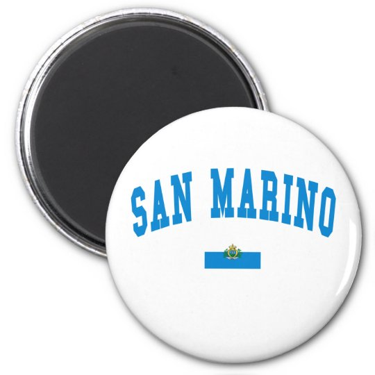 San Marino College Style Magnet