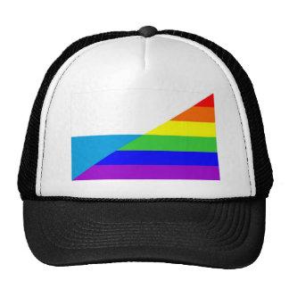 san marino country gay rainbow flag homosexual cap