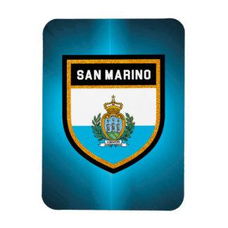San Marino Flag Rectangular Photo Magnet