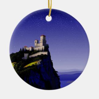 San Marino High Rez.jpg Christmas Ornament