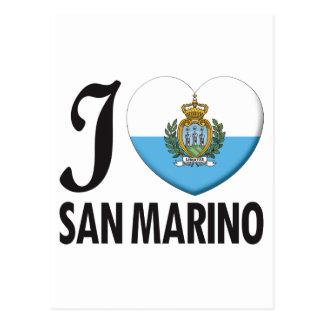 San Marino Love Postcard