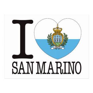 San Marino Love v2 Postcard
