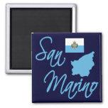 San Marino Square Magnet
