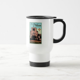 San Miguel Mission 15 Oz Stainless Steel Travel Mug