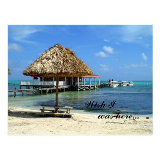 San Pedro, Belize postcard