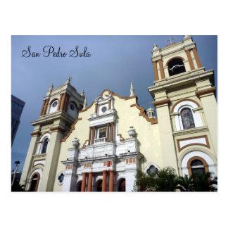 san pedro church postcard