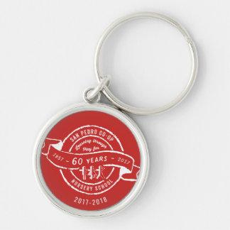 San Pedro Co-Op Nursery School 60th Anniversary Key Ring