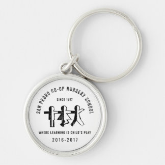 San Pedro Co-Op Nursery School Since 1957 Keychain