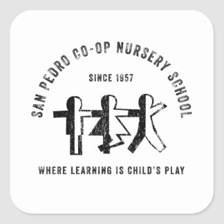 San Pedro Co-Op Nursery School Since 1957 Sticker