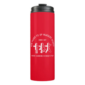 San Pedro Co-Op Nursery School  Since 1957 Tumbler Thermal Tumbler