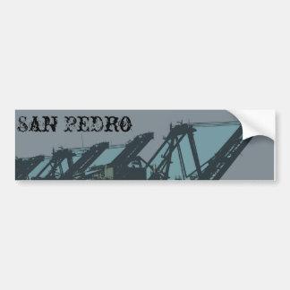 San Pedro Cranes Bumper Sticker