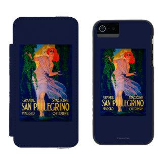 San Pellegrino Vintage PosterEurope Incipio Watson™ iPhone 5 Wallet Case
