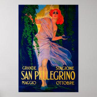 San Pellegrino Vintage PosterEurope Poster