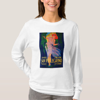 San Pellegrino Vintage PosterEurope T-Shirt