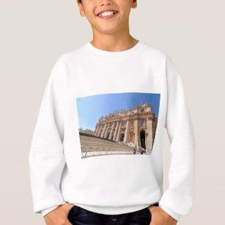 San Pietro basilica in Vatican, Rome, Italy Sweatshirt
