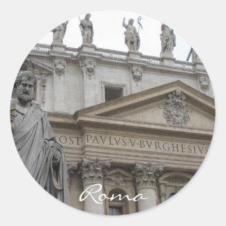 San Pietro Classic Round Sticker