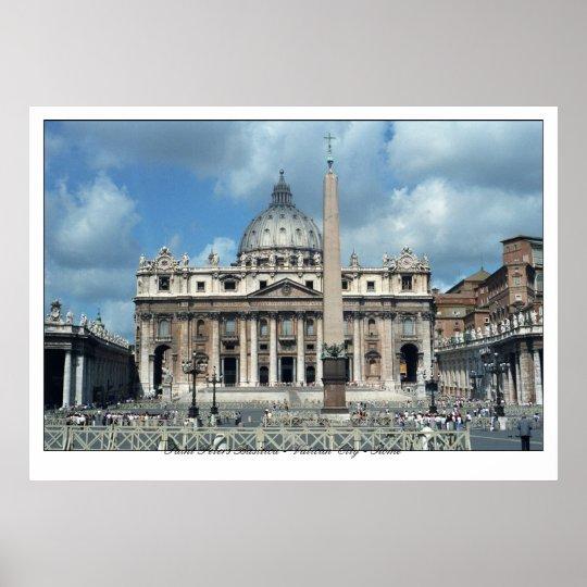 San Pietro - ROMA Poster