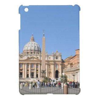 San Pietro square in Vatican, Rome, Italy iPad Mini Covers