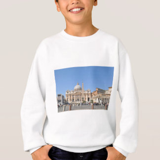 San Pietro square in Vatican, Rome, Italy Sweatshirt