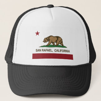 san rafael california state flag trucker hat