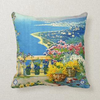 San Remo Italy 1920 Throw Pillow
