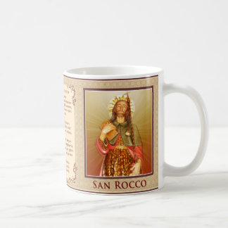 San Rocco - Italian - preghiera tazza Coffee Mug