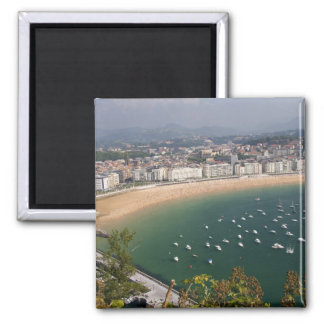 San Sebastian, Spain. The Basque city of San Square Magnet