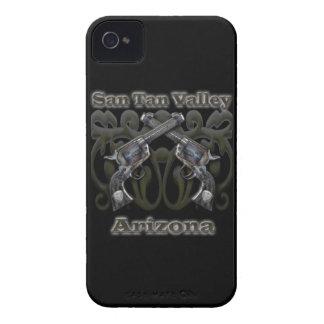 San Tan Valley Arizona - Revolvers iPhone 4 Case