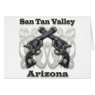 San Tan Valley Arizona - Revolvers Greeting Card