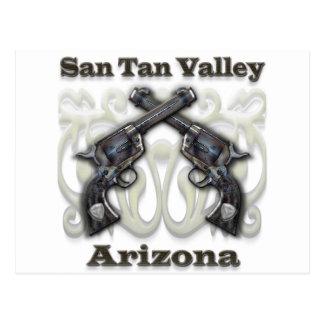 San Tan Valley Arizona - Revolvers Postcard