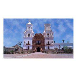 San Xavier del Bac Mission - Tucson AZ Business Card