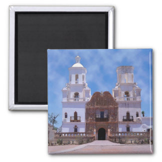 San Xavier del Bac Mission - Tucson, AZ Fridge Magnets