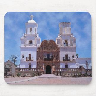 San Xavier del Bac Mission - Tucson, AZ Mousepad